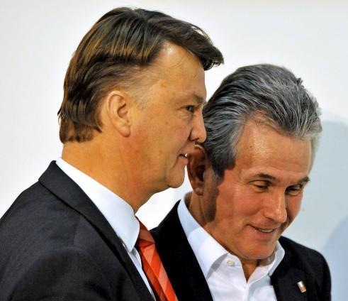 Van Gaal y Heynckes/lainformacion.com/EFE