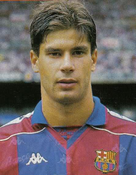 Goran Vucevic con la camiseta del FC Barcelona