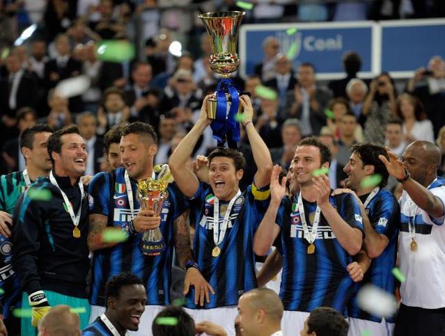 Zanetti lidera al veternao y galardonado Inter. Foto;lainformacion.com/Claudio Villa/Getty Images